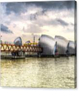 The Thames Barrier London Canvas Print