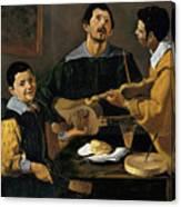 The Three Musicians Canvas Print