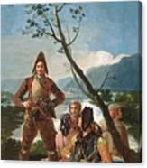 The Tobacco Guards Canvas Print