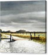 The Turnoff Canvas Print