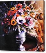 The Velvet Chair Canvas Print