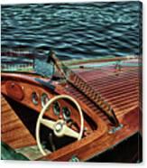 The Vintage 1958 Chris Craft Canvas Print