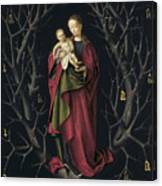 The Virgin Of The Dry Tree Canvas Print