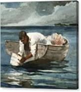 The Water Fan Canvas Print