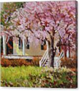 The Yellow Porch Canvas Print