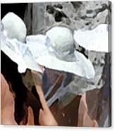 Three Hats Canvas Print