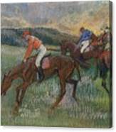 Three Jockeys Canvas Print