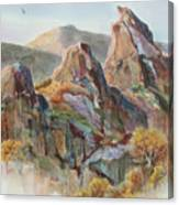 Three Sisters Canvas Print