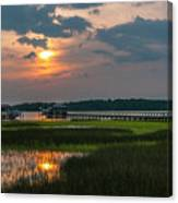 Thriving Beauty Of The Lowcountry Canvas Print