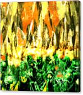 Thundering Hooves Canvas Print