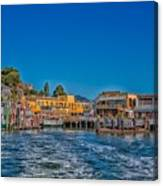 Tiburon Waterfront Canvas Print