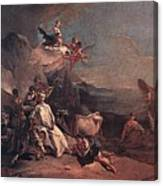 Tiepolo The Rape Of Europa Giovanni Battista Tiepolo Canvas Print