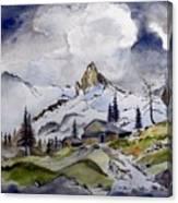 Tigers Tooth Peak Canvas Print