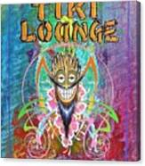 Tiki Lounge  Canvas Print