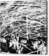 Titanic: Lifeboats, 1912 Canvas Print