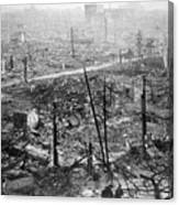 Tokyo Earthquake, 1923 Canvas Print