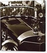 Tom Barrett And Family High Bidder Earl Clark At $153,000 Of Adolf Hitlers Mercedes Benz 770k Canvas Print