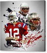 Tom Brady Patriots Canvas Print