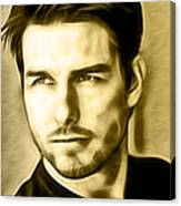 Tom Cruise Collection Canvas Print