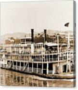 Tom Greene River Boat Canvas Print