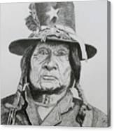 Tosawi  Comanche Chief Canvas Print