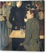Toulouse-lautrec, 1892 Canvas Print