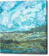 Toward Pinckney Island Canvas Print