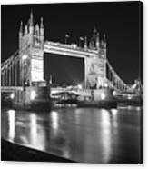 Tower Bridge On The Thames London Canvas Print