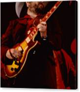 Toy Caldwell Of Themarshall Tucker Band At The Cow Palace Canvas Print