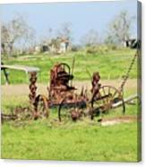 Tractor 005 Canvas Print