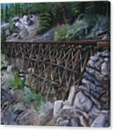 Train Ghosts IIi Canvas Print