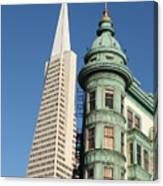 Transamerica Pyramid Building Canvas Print
