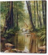 Transcarpatien Landscape Canvas Print
