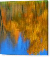 Tree Reflection Painting Canvas Print