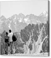 Trekking Together Canvas Print