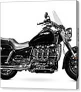 Triumph Rocket IIi Motorcycle Canvas Print