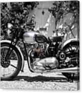 Triumph Tiger 100 1939 Canvas Print