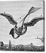 Trouv�s Ornithopter Canvas Print