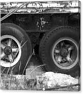 Truck Tires Canvas Print