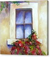 Window Box Canvas Print