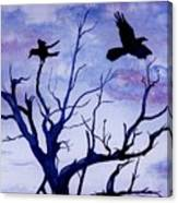 Twilight Flight Canvas Print