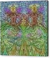 Twin Fairies Canvas Print