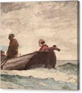 Tynemouth Priory Canvas Print