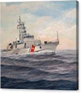 U. S. Coast Guard Cutter Monsoon Canvas Print