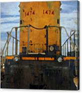 Union Pacific 1474 Canvas Print