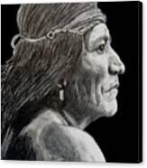Unknown Indian VI Canvas Print