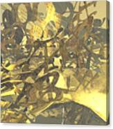 Urban Gold Canvas Print