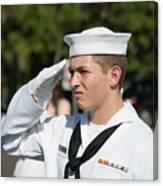 Us Naval Sea Cadet Corps - Gulf Eagle Division, Cape Coral, Florida Canvas Print