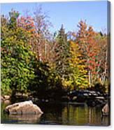 Usa, New York, Adirondack State Park Canvas Print