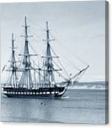 Uss Constitution Old Ironsides In Monterey Bay Oct. 1933 Canvas Print